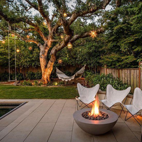 おしゃれな屋外用ガーデンテーブル&チェア_リゾートスタイル