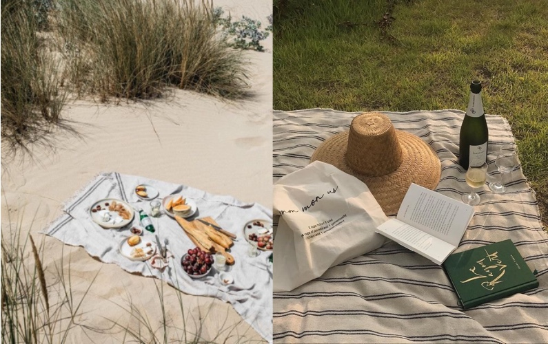 海外風おしゃれピクニックの教科書_写真