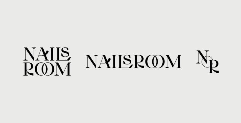 ハンガリーのネイルサロン「NAIL's Room」のロゴデザイン
