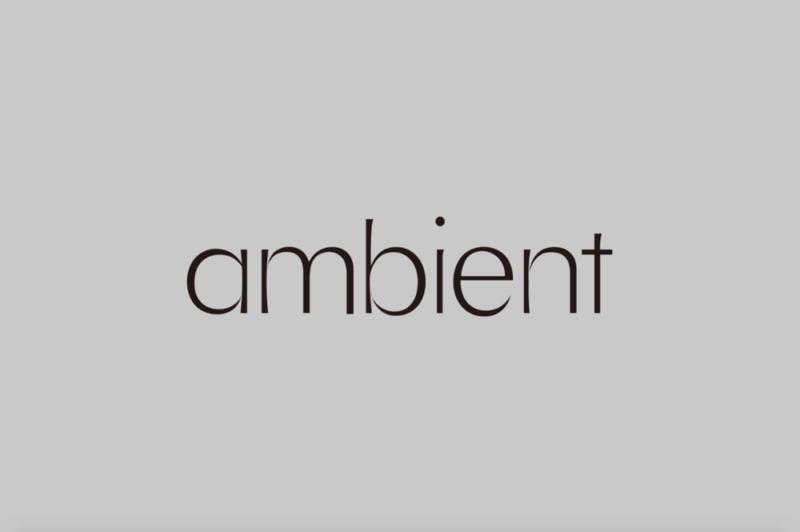 京都の美容室「ambient」のブランディング_ロゴデザイン